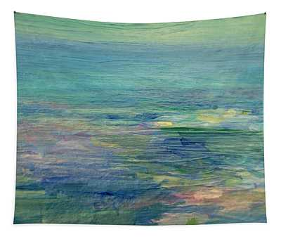Gentle Light On The Water Tapestry