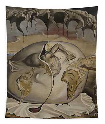 Dali's Geopolitical Child Tapestry