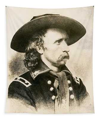 George Armstrong Custer  Tapestry