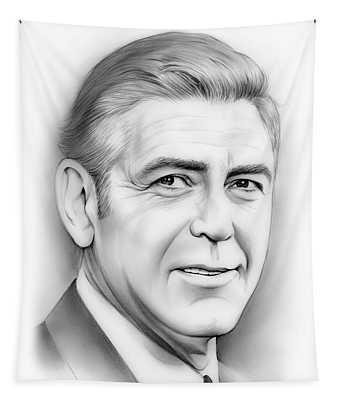George Clooney Tapestry