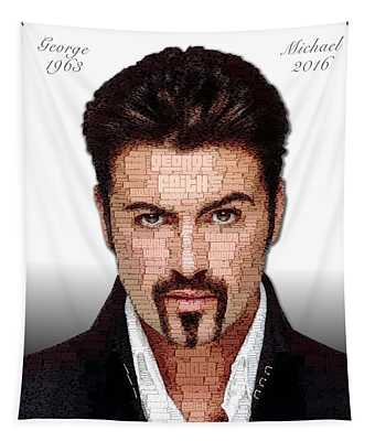 George Michael Tribute Tapestry
