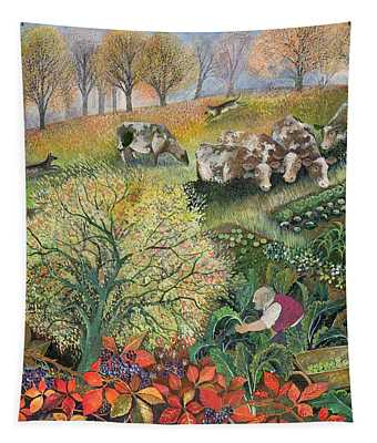 George's Allotment Tapestry