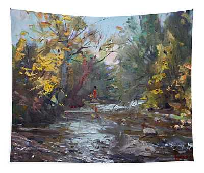 Georgetown Fall Colors Tapestry