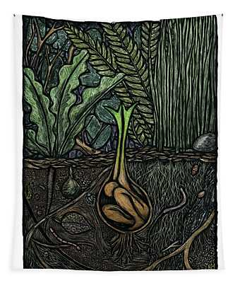 Germination Tapestry by Ricardo Levins Morales