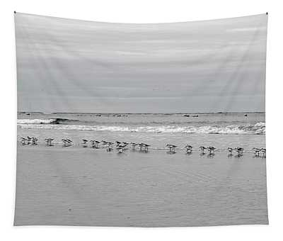 Get Your Ducks In A Row Tapestry