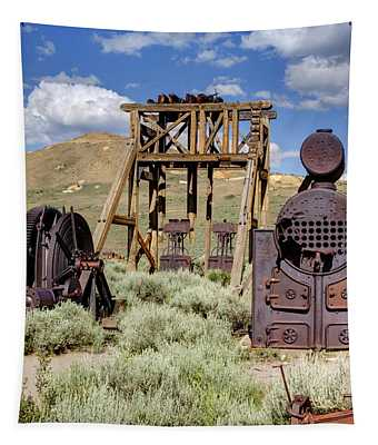 Ghost Mine Tapestry