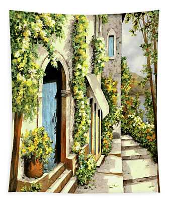 Giallo Limone Tapestry