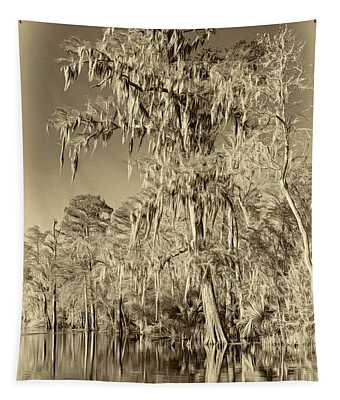 Giant Cypress 2 - Sepia Tapestry