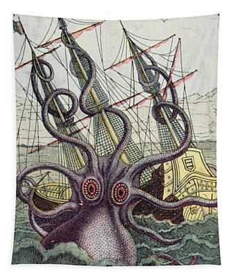Giant Octopus Tapestry