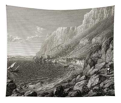 Gibraltar, Catalan Bay. From The Tapestry