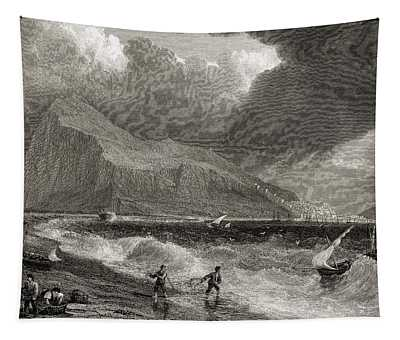 Gibraltar From The Bay Side.from The Tapestry