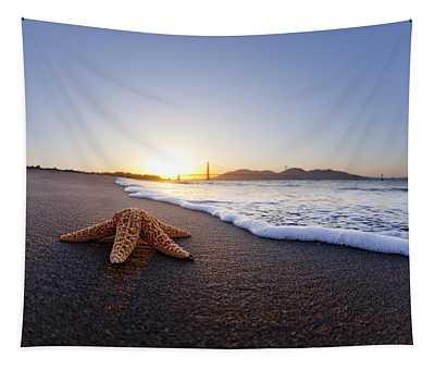 Golden Gate Starfish Tapestry