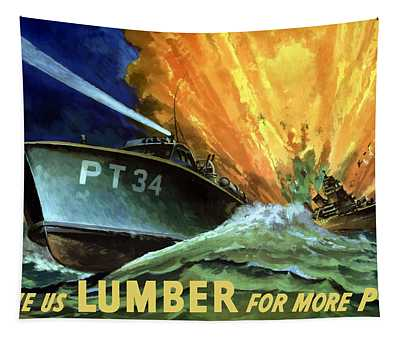 Give Us Lumber For More Pt's Tapestry