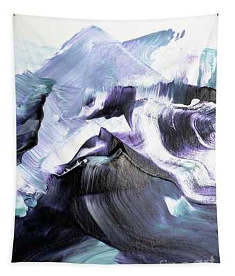 Glacier Mountains Tapestry