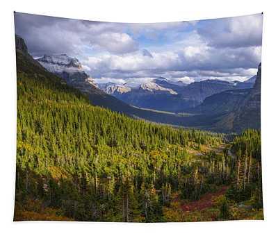 Glacier Storm Tapestry