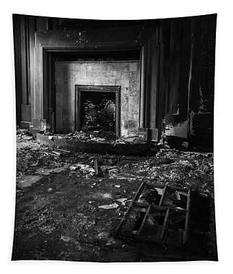 Old Fireplace Tapestry