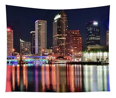 Glorious Tampa Bay Florida Tapestry