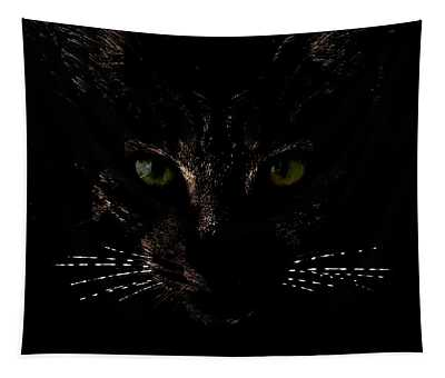 Glowing Whiskers Tapestry