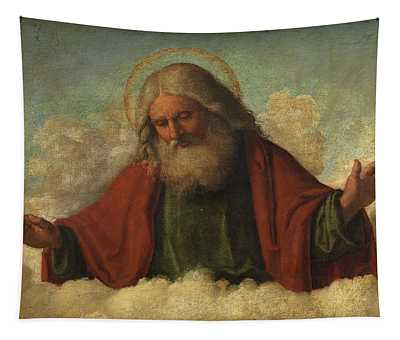 God The Father Tapestry