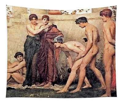Gods At Play Tapestry