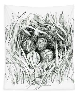 Godwit Nest Tapestry