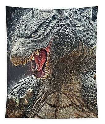 Godzilla - King Of Monsters Tapestry