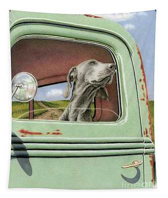 Goin' For A Ride Tapestry