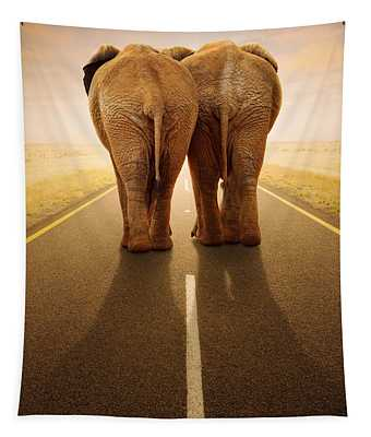 Going Away Together / Travelling By Road Tapestry
