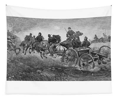 Going Into Battle - Civil War Tapestry