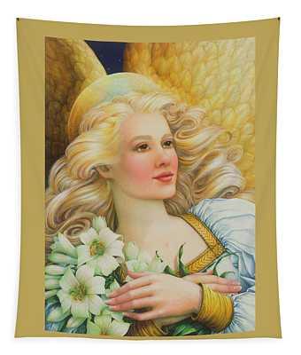 Golden Angel Tapestry