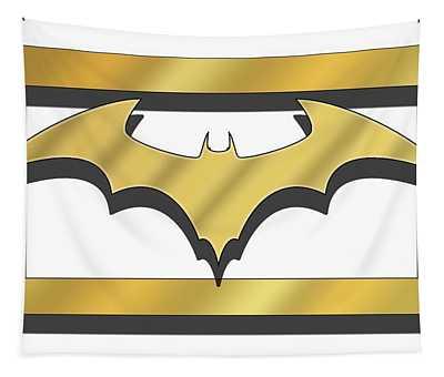 Golden Bat Tapestry