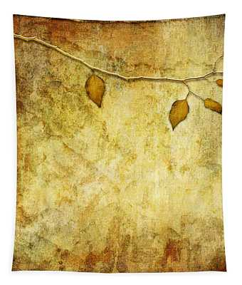 Golden Branch Of Hope  Tapestry