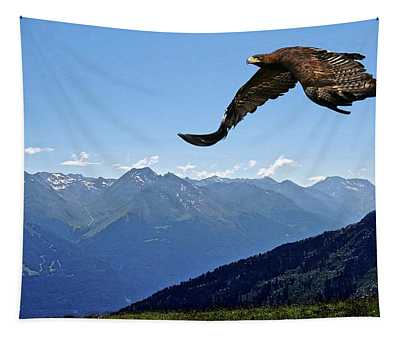 Golden Eagle Tapestry