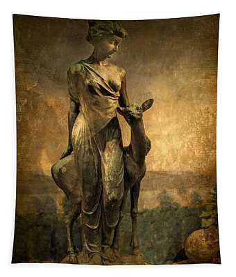 Golden Lady Tapestry