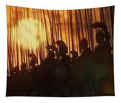 Golden Phalanx - 01  Tapestry