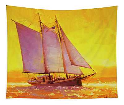 Golden Sea Tapestry
