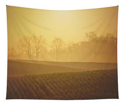 Golden Song Tapestry