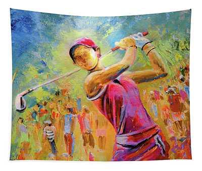 Golf Attitude Tapestry