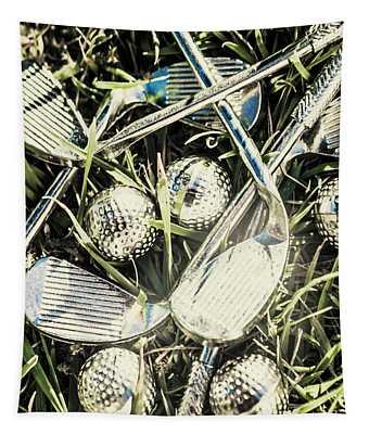 Golf Chrome Tapestry