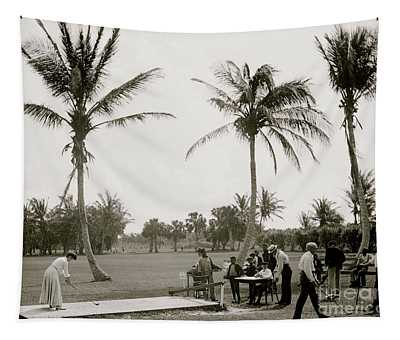 Golf  Vintage Photograph Tapestry