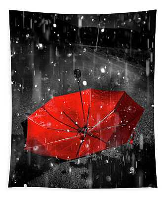 Gone With The Rain Tapestry