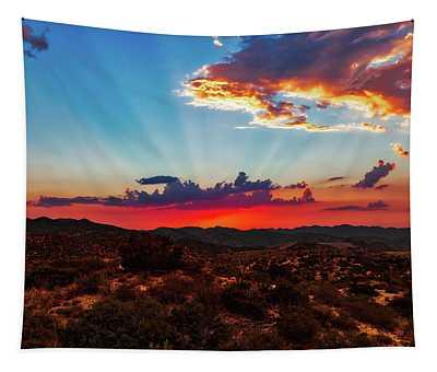 Good Evening Arizona Tapestry