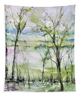 Good Morning On Da Bayou Faciane Tapestry