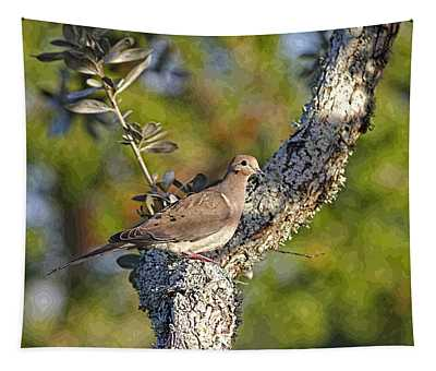 Good Mourning Dove By H H Photography Of Florida Tapestry