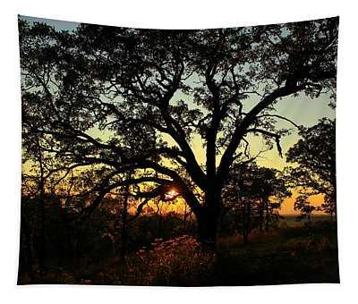 Good Night Tree Tapestry