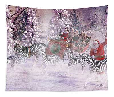 Good Tidings And Joy Tapestry