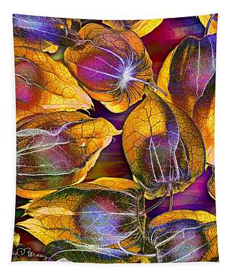 Goosed Berry Pods Tapestry