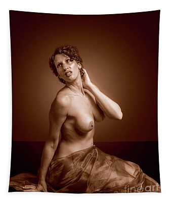 Gorgeous Nude. Tapestry