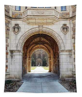 Gothic Archway Photography Tapestry