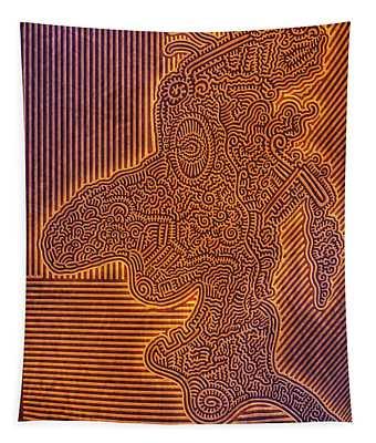 Gotta Draw The Line Somewhere Tapestry
